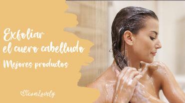 exfoliar el cuero cabelludo