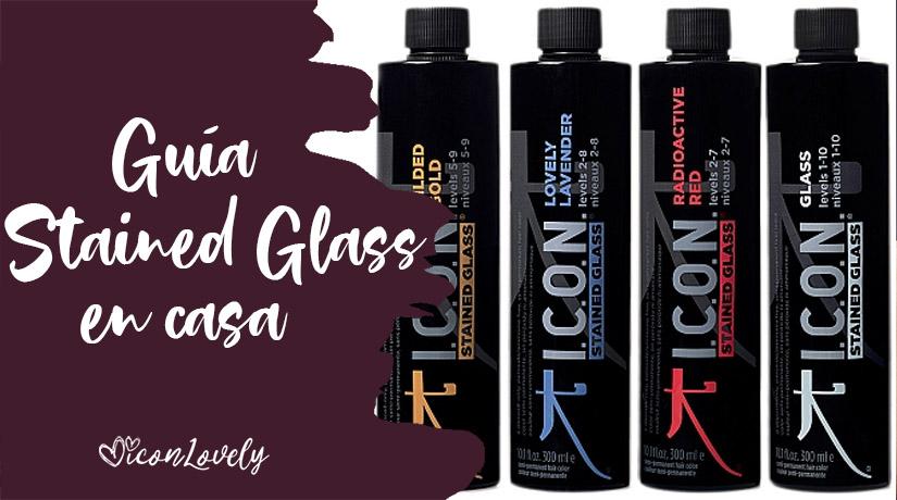 ¿Cómo usar Stained Glass de ICON en casa? Guía completa